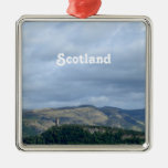 Wallace Monument Metal Ornament