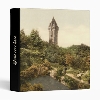 Wallace Monument, Stirling, Scotland Binder