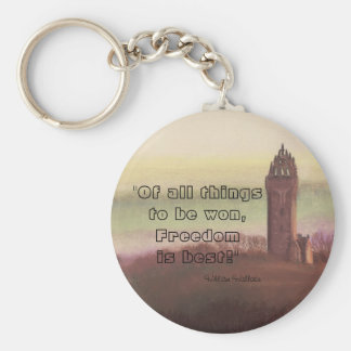 Wallace Monument Stirling Scotland Key Chains