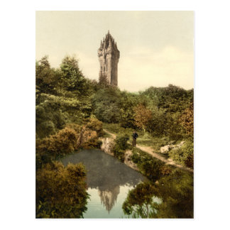 Wallace Monument, Stirling, Scotland Postcard