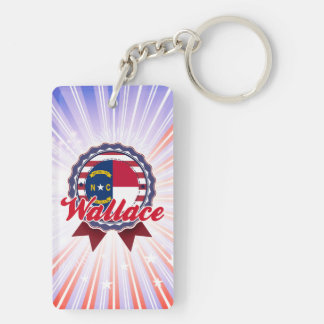 Wallace NC Acrylic Keychains