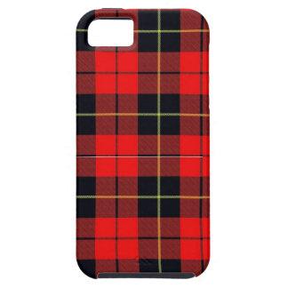 Wallace plaid iphone 5 Tough case