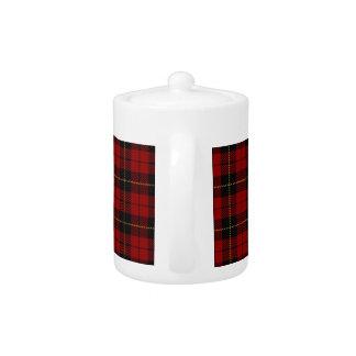 wallace plaid teapot