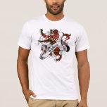 Wallace Tartan Lion T-Shirt