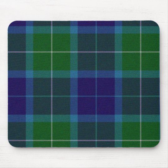Wallace Tartan Plaid Mouse Pad