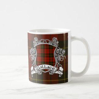 Wallace Tartan Shield Mugs