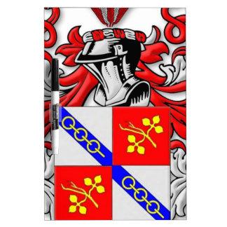 Wallander Coat of Arms Dry-Erase Board