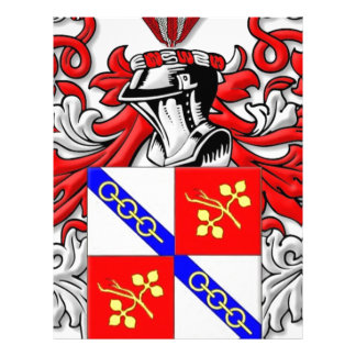 Wallander Coat of Arms Letterhead Design