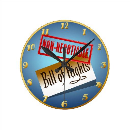 Wallclock no negociable reloj