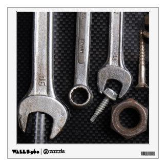 WallDecal: mechanics bench tool Wall Sticker