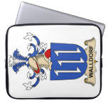 Walldorf Family Crest Laptop Computer Sleeves