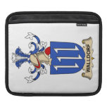 Walldorf Family Crest Sleeve For iPads