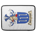 Walldorf Family Crest Sleeve For MacBooks