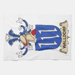 Walldorf Family Crest Towels
