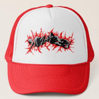 Walleaters (toon-shock) - red trucker hat