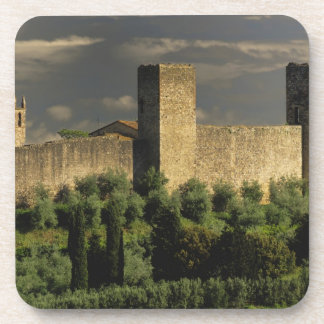 Walled city of Monteriggioni, in the province of Coaster