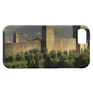 Walled city of Monteriggioni, in the province of iPhone SE/5/5s Case
