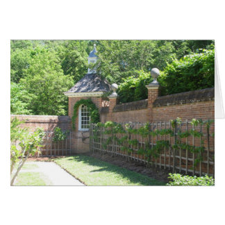 Walled Garden Card