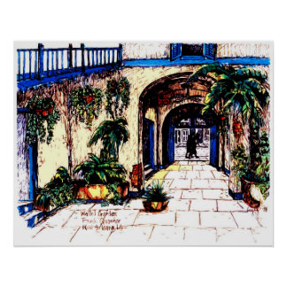 Walled Garden - Poster
