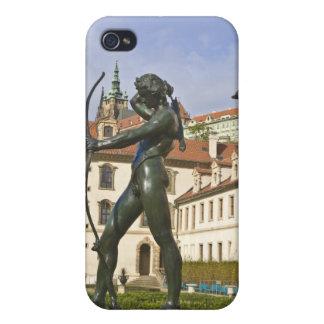 Wallenstein cultiva un huerto Praga iPhone 4 Cárcasa