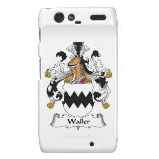 Waller Family Crest Motorola Droid RAZR Covers