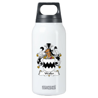 Waller Family Crest SIGG Thermo 0.3L Insulated Bottle