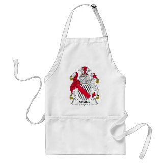 Walles Family Crest Aprons