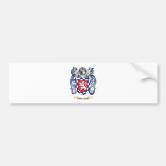 Walles Family Crest (Coat of Arms) Car Bumper Sticker