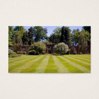 Walles garden business card