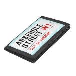 Arsehole Street  Wallet
