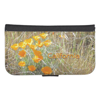 Wallet Case - California Poppies