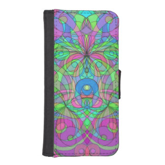 Wallet Case iPhone 5s Ethnic Style