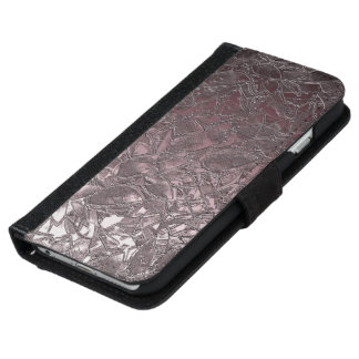 Wallet Case iPhone 6 Floral Relief Abstract