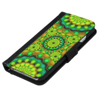Wallet Case iPhone 6 Mandala Psychedelic Visions iPhone 6 Wallet Case