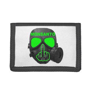 Wallet Monsanto Gas Mask Flip