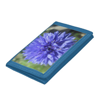 Wallet - Nylon - Cornflower Blue Bachelor's Button
