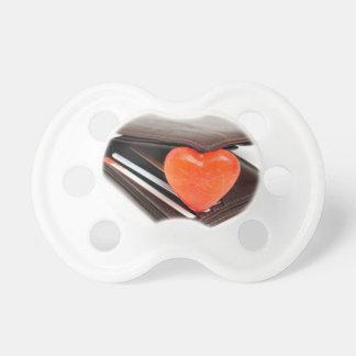 Wallet romance pacifier