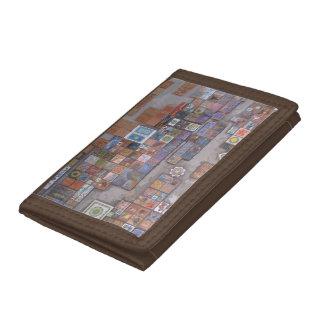 Wallet--Train Station Tiles Tri-fold Wallet