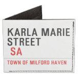 Karla marie STREET   Wallet Tyvek® Billfold Wallet