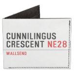 Cunnilingus  crescent  Wallet Tyvek® Billfold Wallet