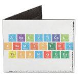 Analytical Chemistry Techniques  Wallet Tyvek® Billfold Wallet