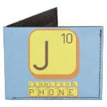J JENNIFER'S PHONE  Wallet Tyvek® Billfold Wallet