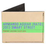 armando aguiar (Rato)  2013 smart street  Wallet Tyvek® Billfold Wallet