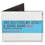 3rd Davyhulme Scout & Guide Band  Wallet Tyvek® Billfold Wallet