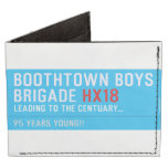 boothtown boys  brigade  Wallet Tyvek® Billfold Wallet