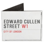 Edward Cullen Street  Wallet Tyvek® Billfold Wallet
