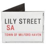 Lily STREET   Wallet Tyvek® Billfold Wallet