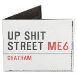 Up Shit Street  Wallet Tyvek® Billfold Wallet