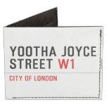 YOOTHA JOYCE Street  Wallet Tyvek® Billfold Wallet