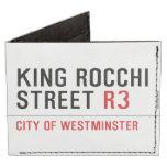 king Rocchi Street  Wallet Tyvek® Billfold Wallet